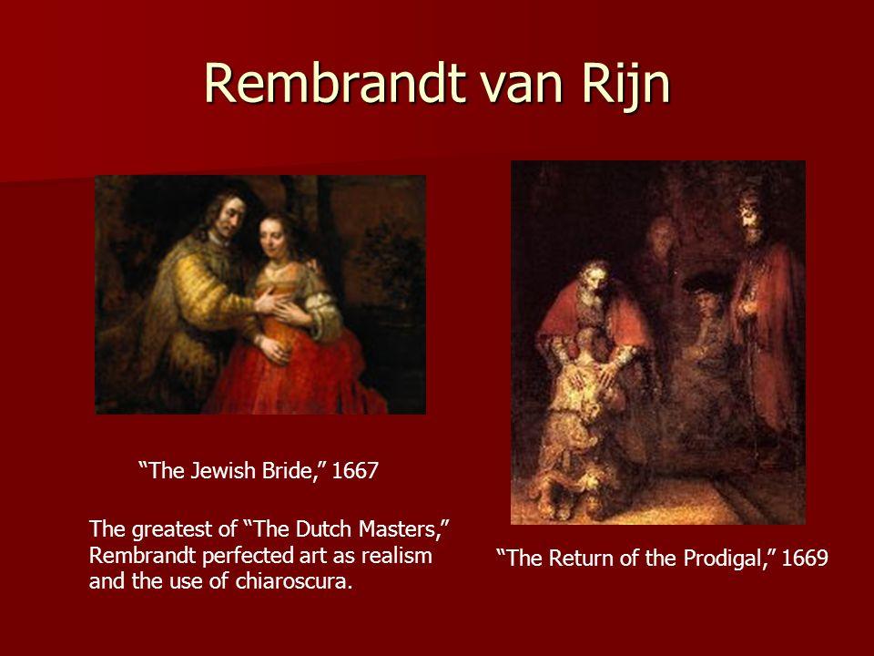 Rembrandt van Rijn The Jewish Bride, 1667