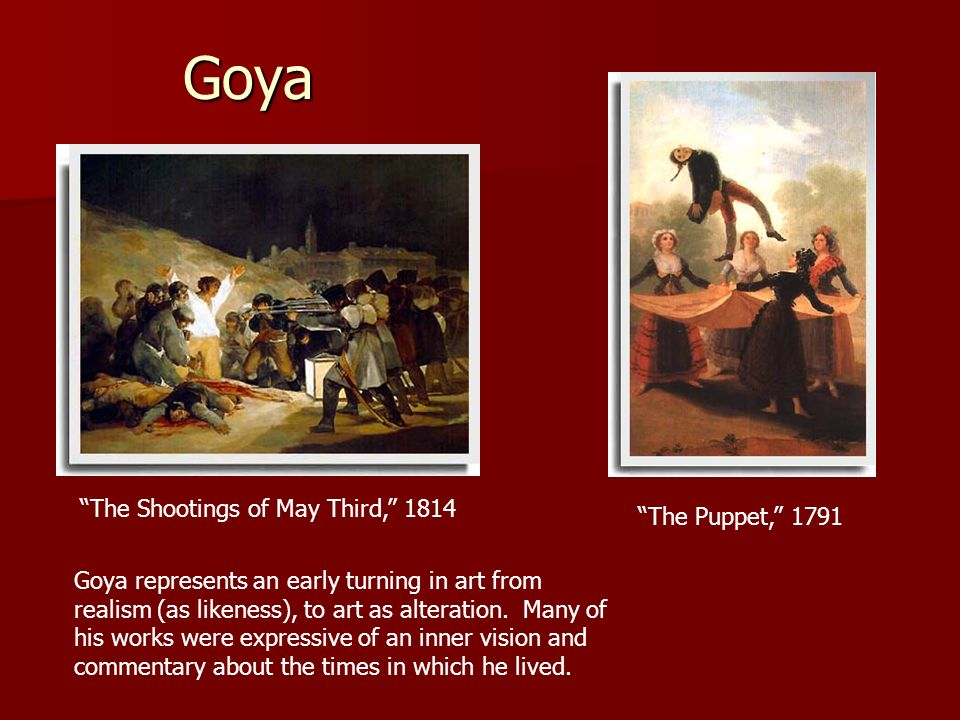 The Shootings of May Third, 1814