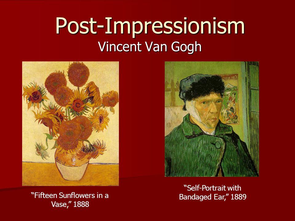 Post-Impressionism Vincent Van Gogh