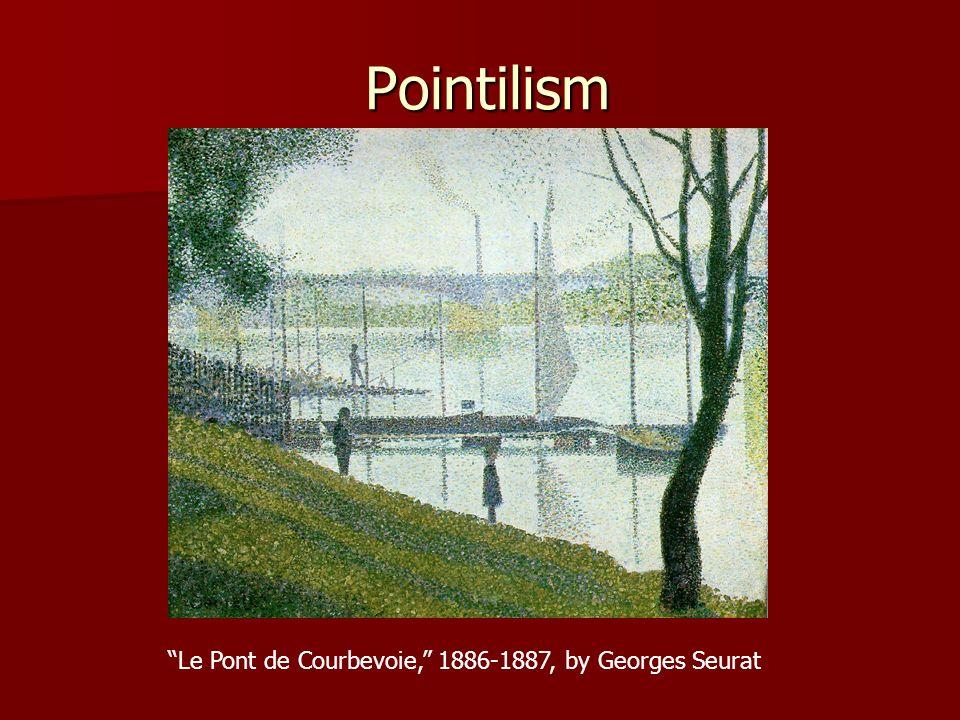 Le Pont de Courbevoie, 1886-1887, by Georges Seurat