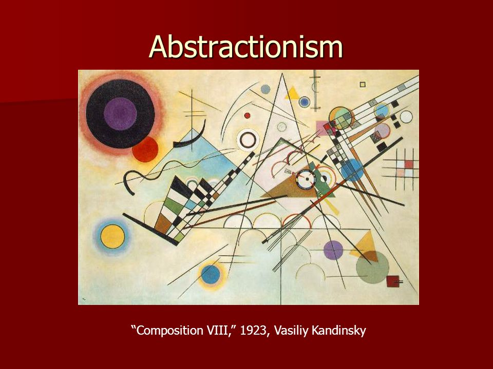 Composition VIII, 1923, Vasiliy Kandinsky