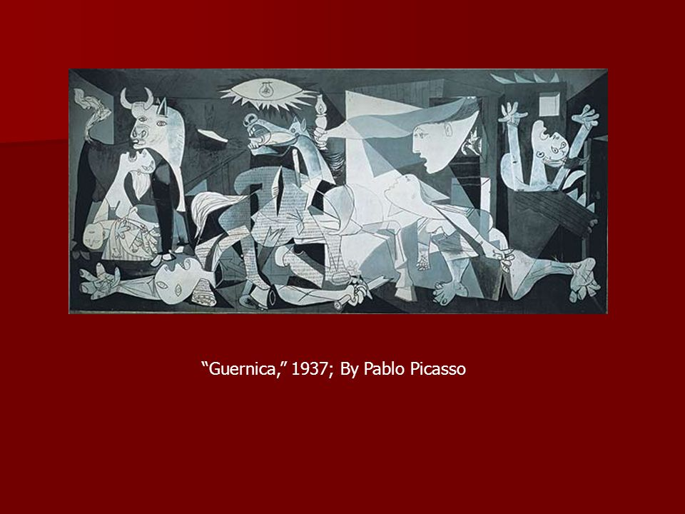 Guernica, 1937; By Pablo Picasso