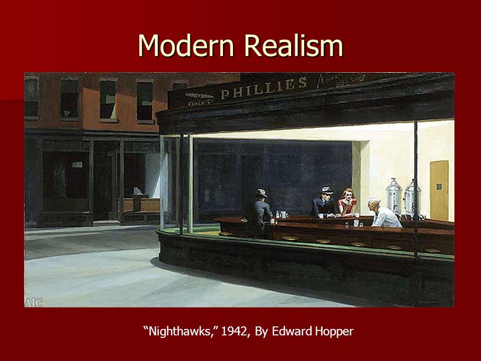Nighthawks, 1942, By Edward Hopper