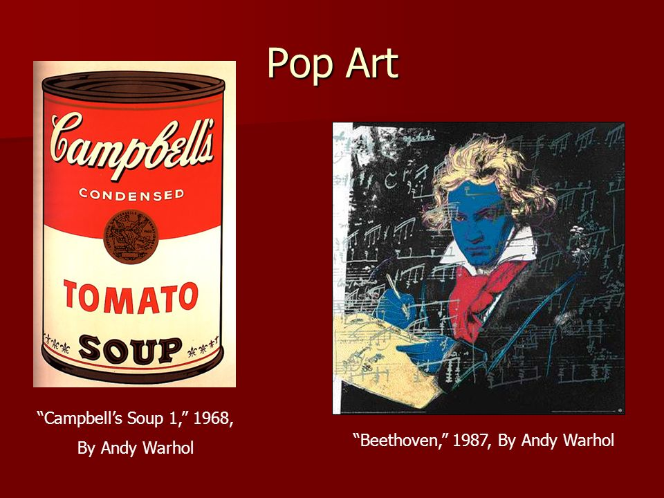Beethoven, 1987, By Andy Warhol
