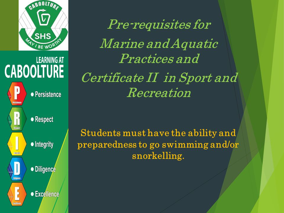 Marine and Aquatic Practices and