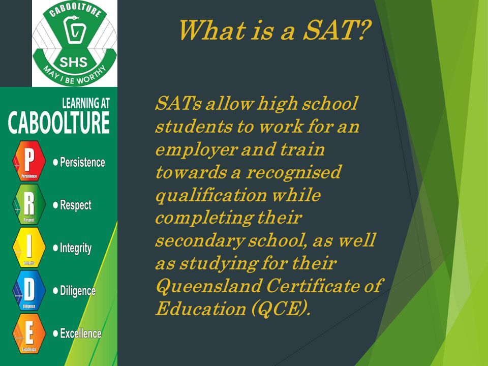 What is a SAT