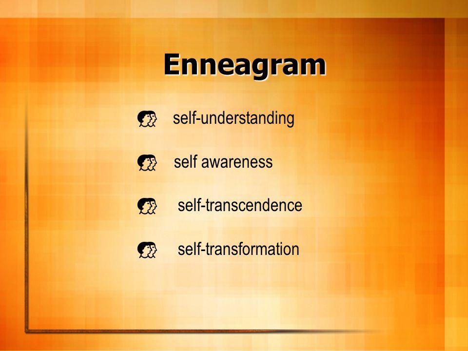 Enneagram self-understanding self awareness self-transcendence