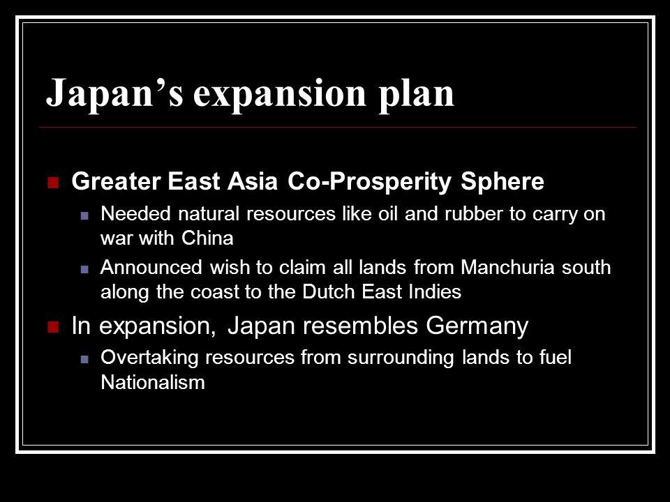 Japan's expansion plan