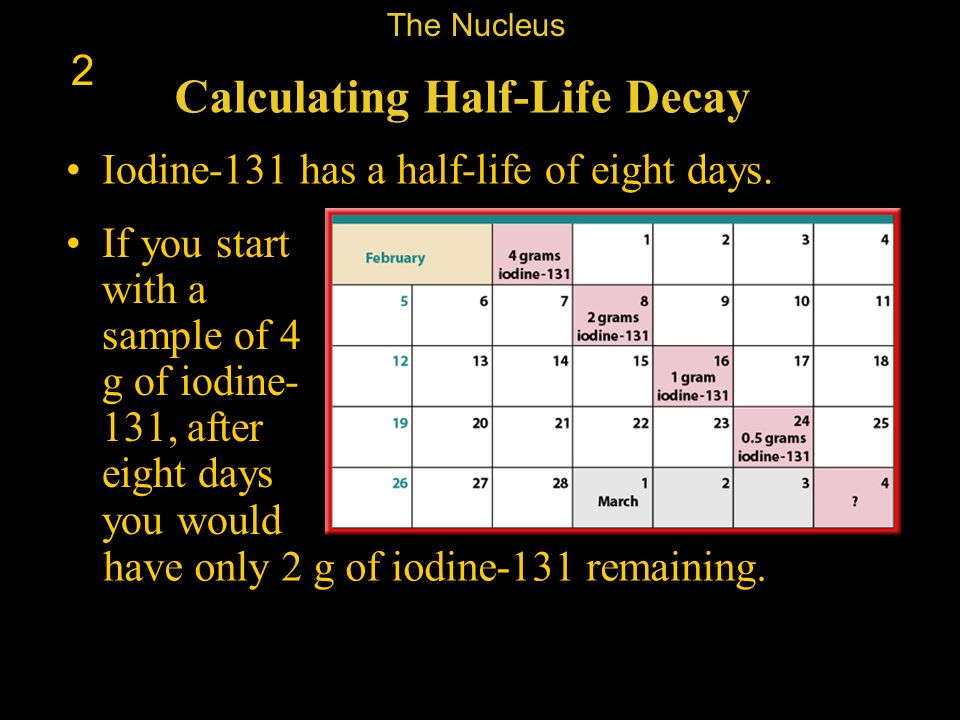 Calculating Half-Life Decay