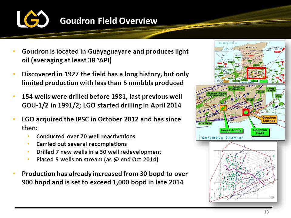 Goudron Field Overview