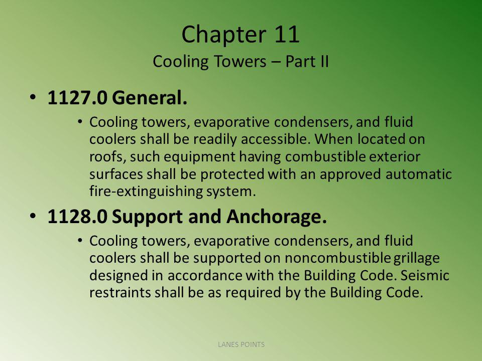 Chapter 11 Cooling Towers – Part II