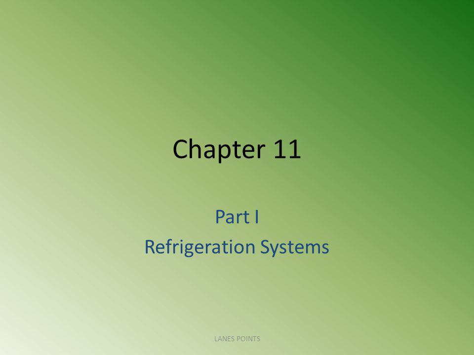 Part I Refrigeration Systems