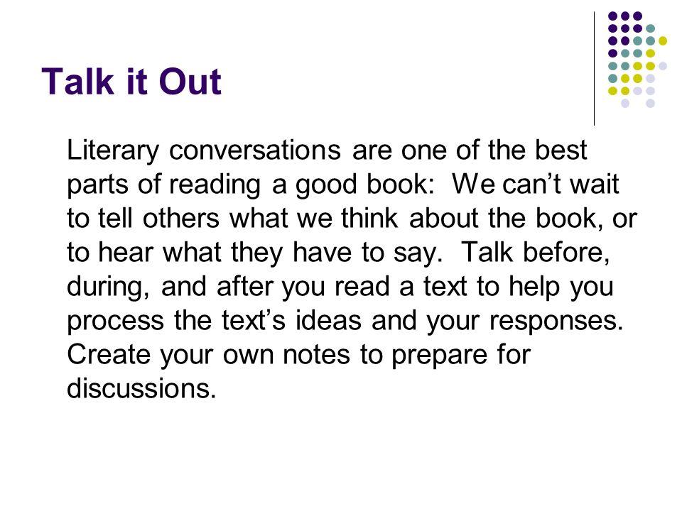 Talk it Out