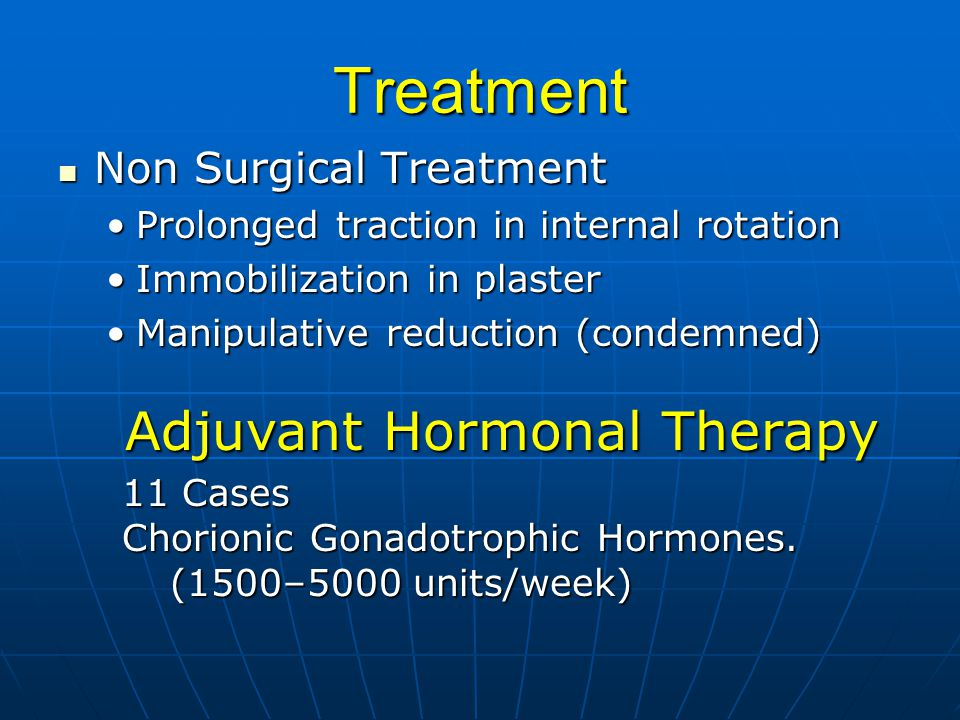 Treatment Adjuvant Hormonal Therapy Non Surgical Treatment