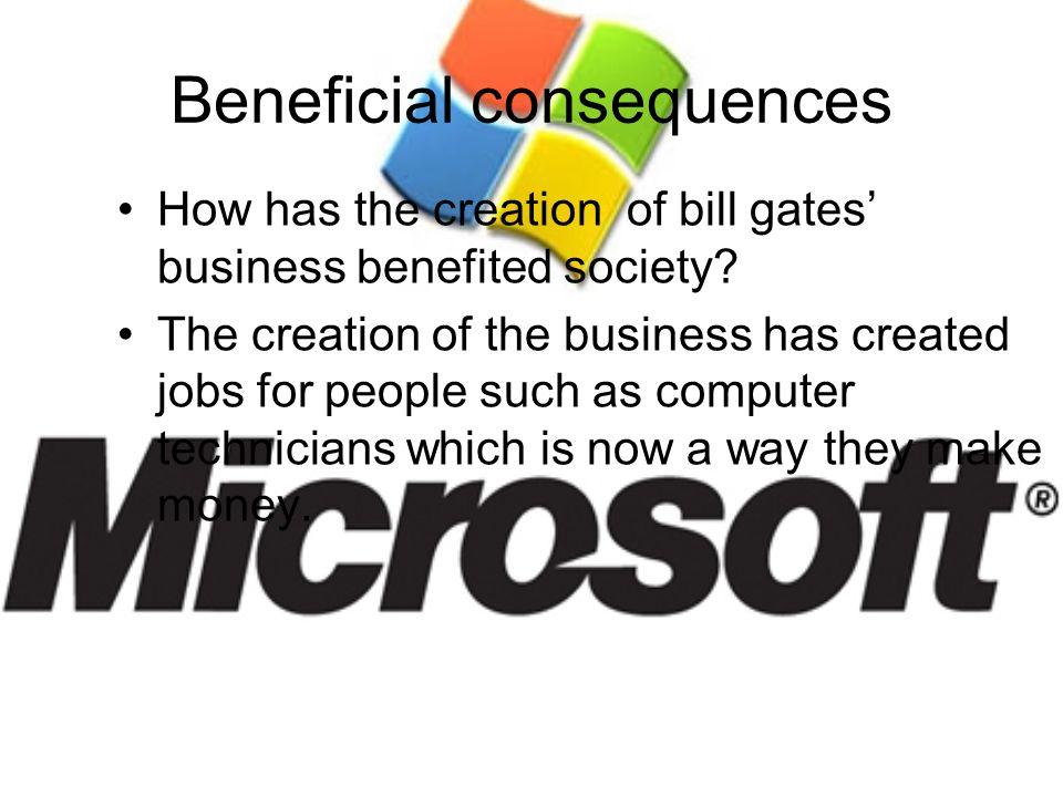 Beneficial consequences