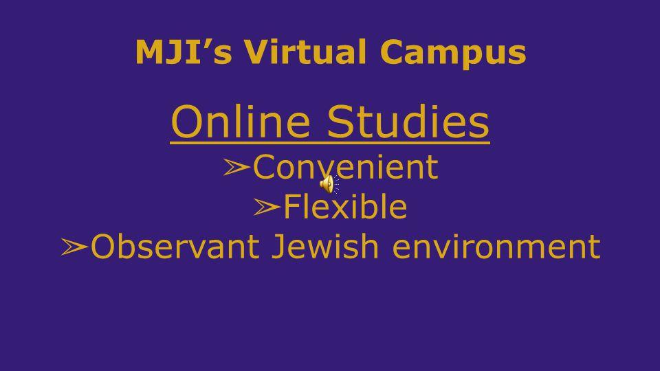 Observant Jewish environment