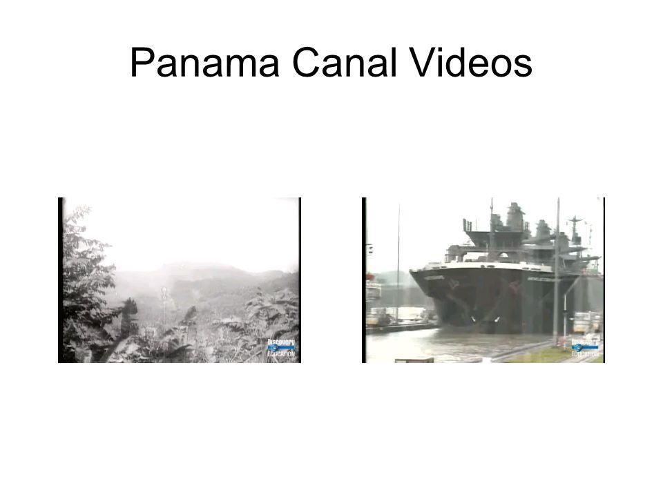 Panama Canal Videos