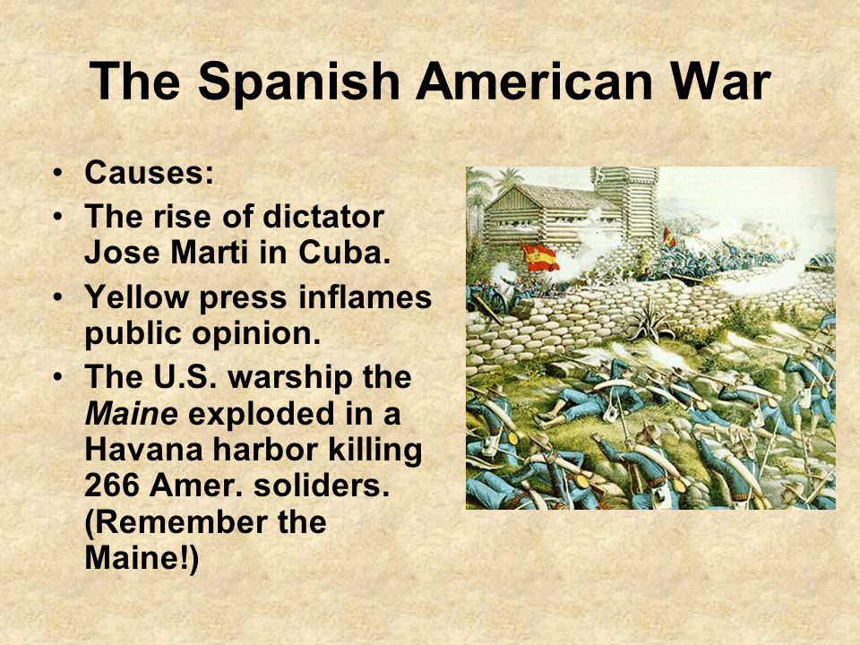 The Spanish American War