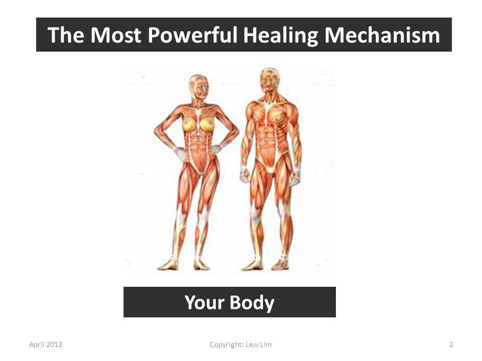 The Most Powerful Healing Mechanism
