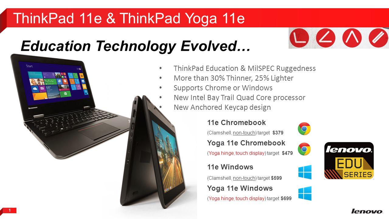 ThinkPad 11e & ThinkPad Yoga 11e