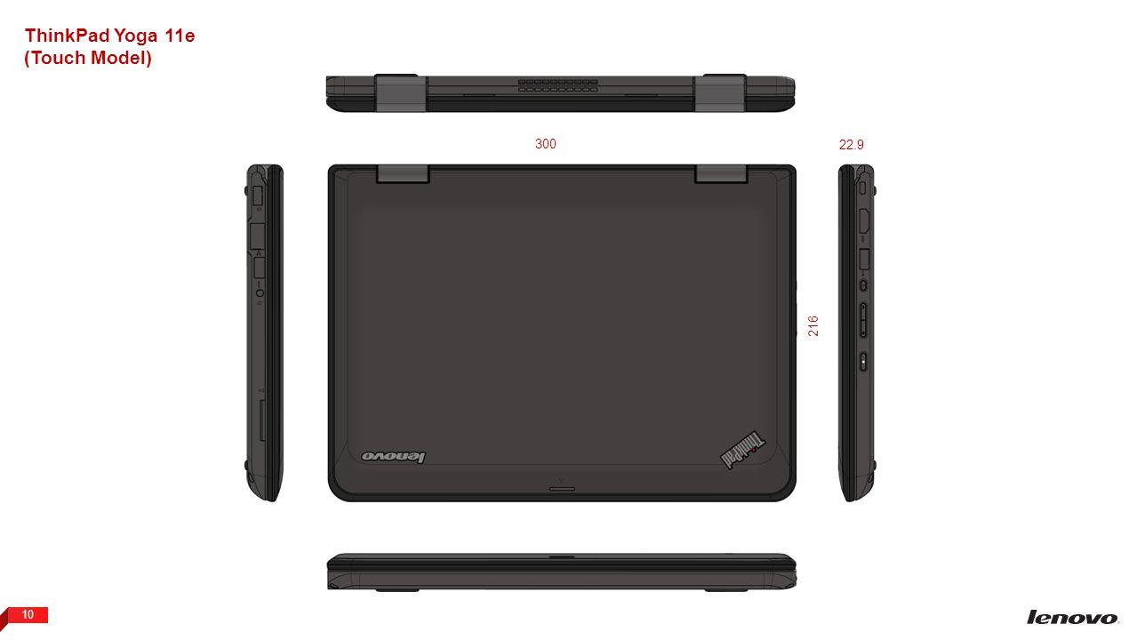 ThinkPad Yoga 11e (Touch Model) 300 22.9 216