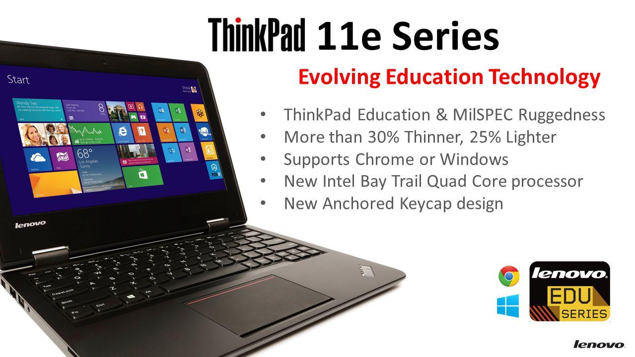11e Series Evolving Education Technology