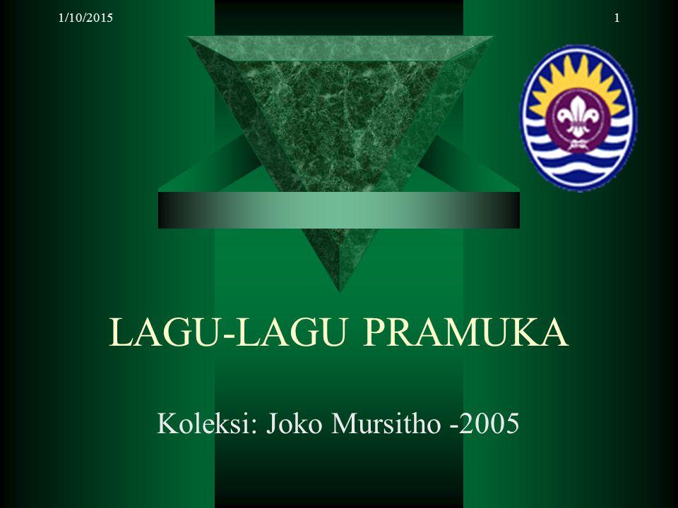 Koleksi: Joko Mursitho -2005