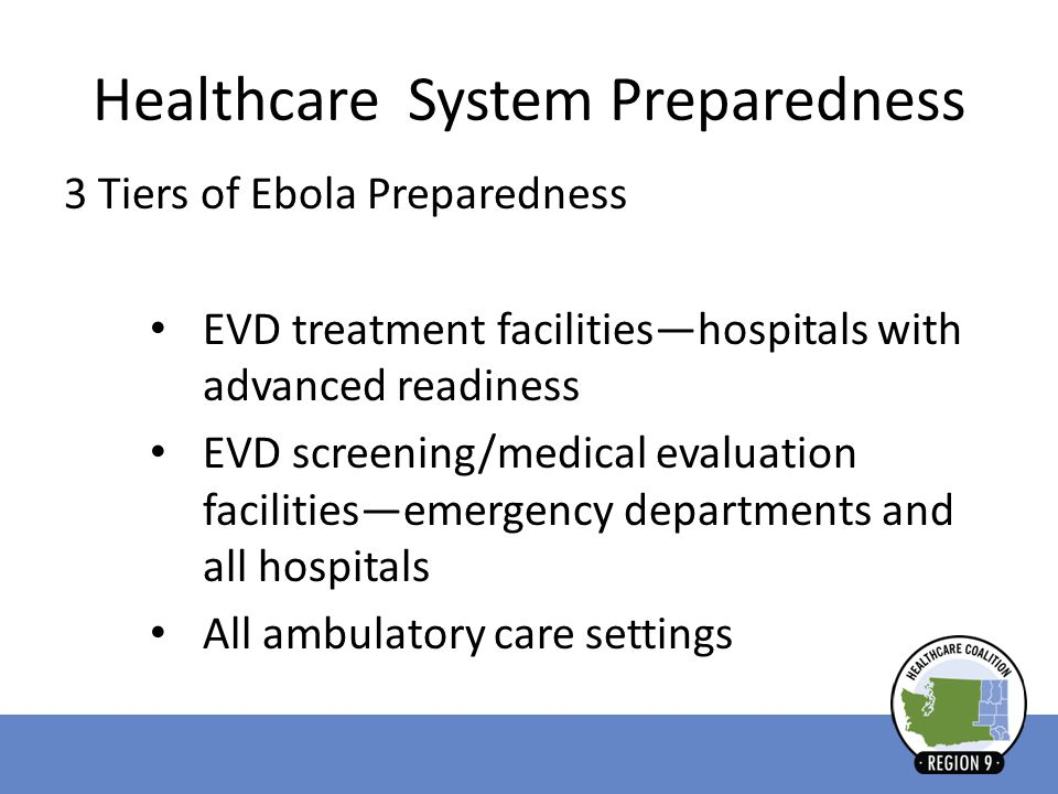 Healthcare System Preparedness