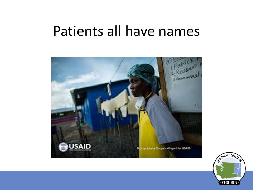 Patients all have names
