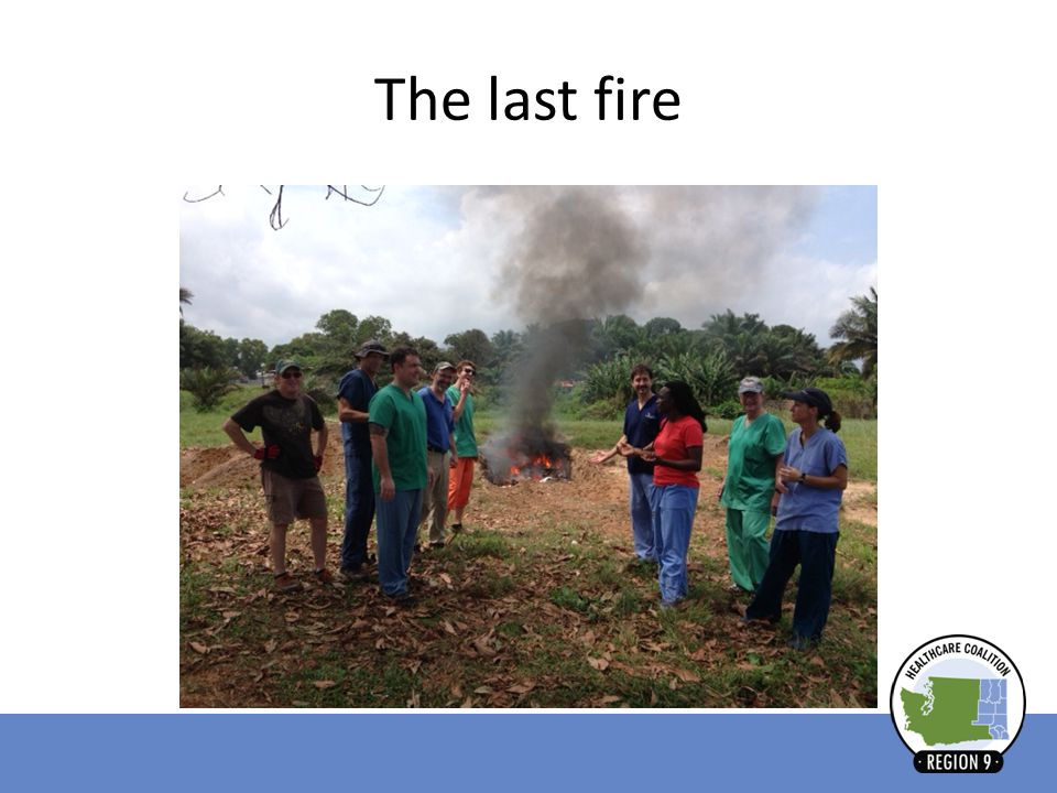 The last fire