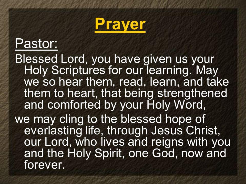 Prayer Pastor: