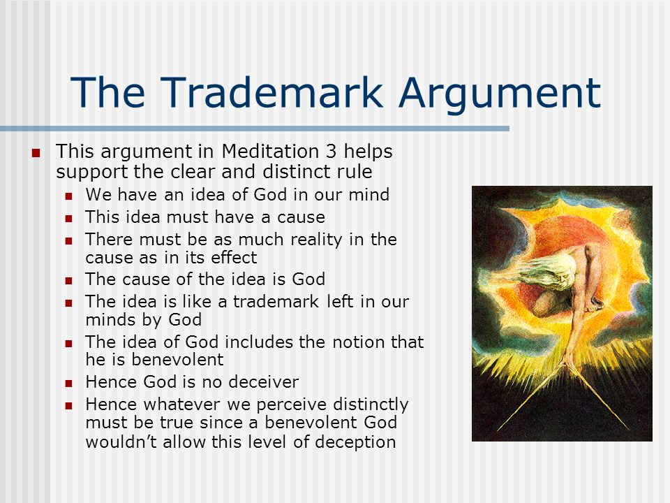 The Trademark Argument