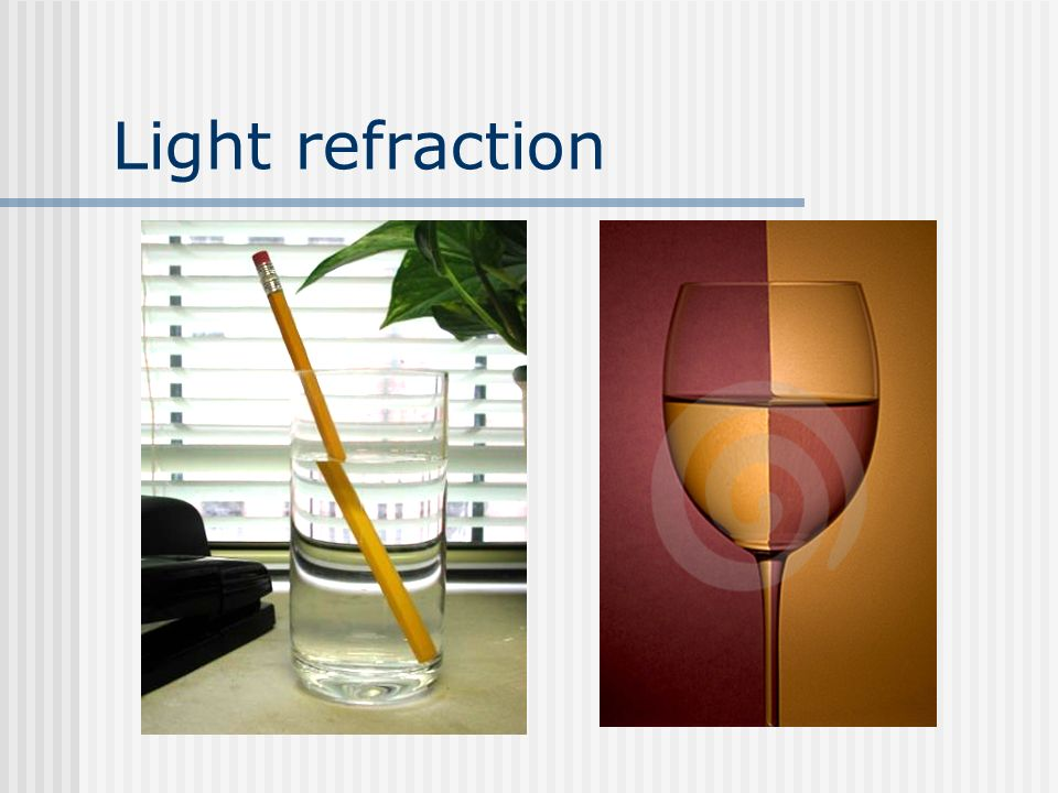 Light refraction