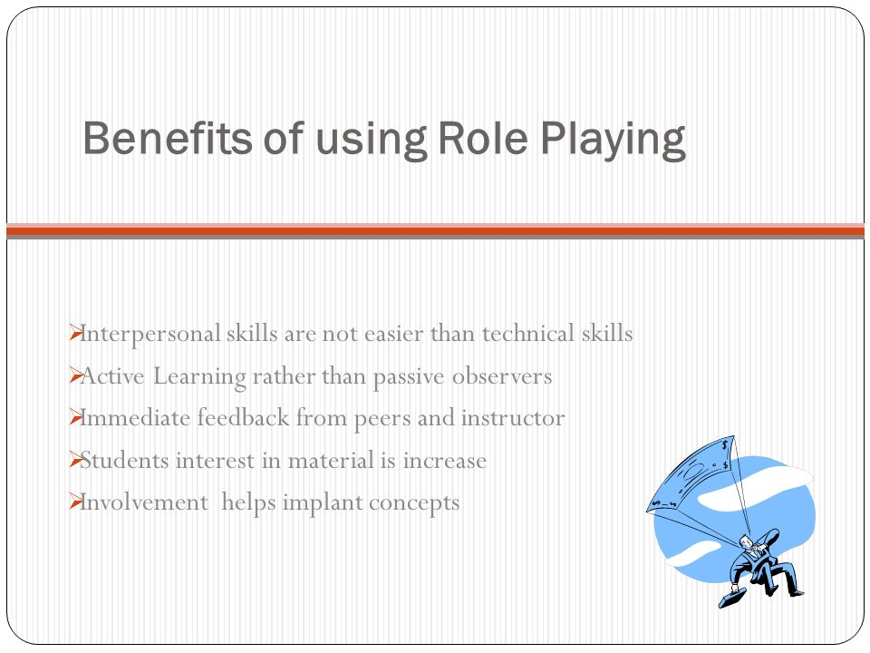 Collaborative Teaching Benefits ~ Role play an alternative teaching strategy ppt video