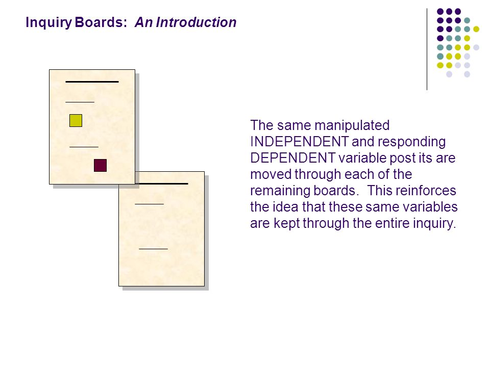 Inquiry Boards: An Introduction