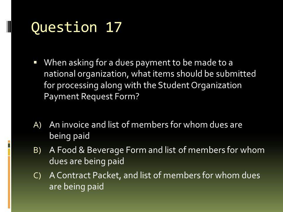 Question 17