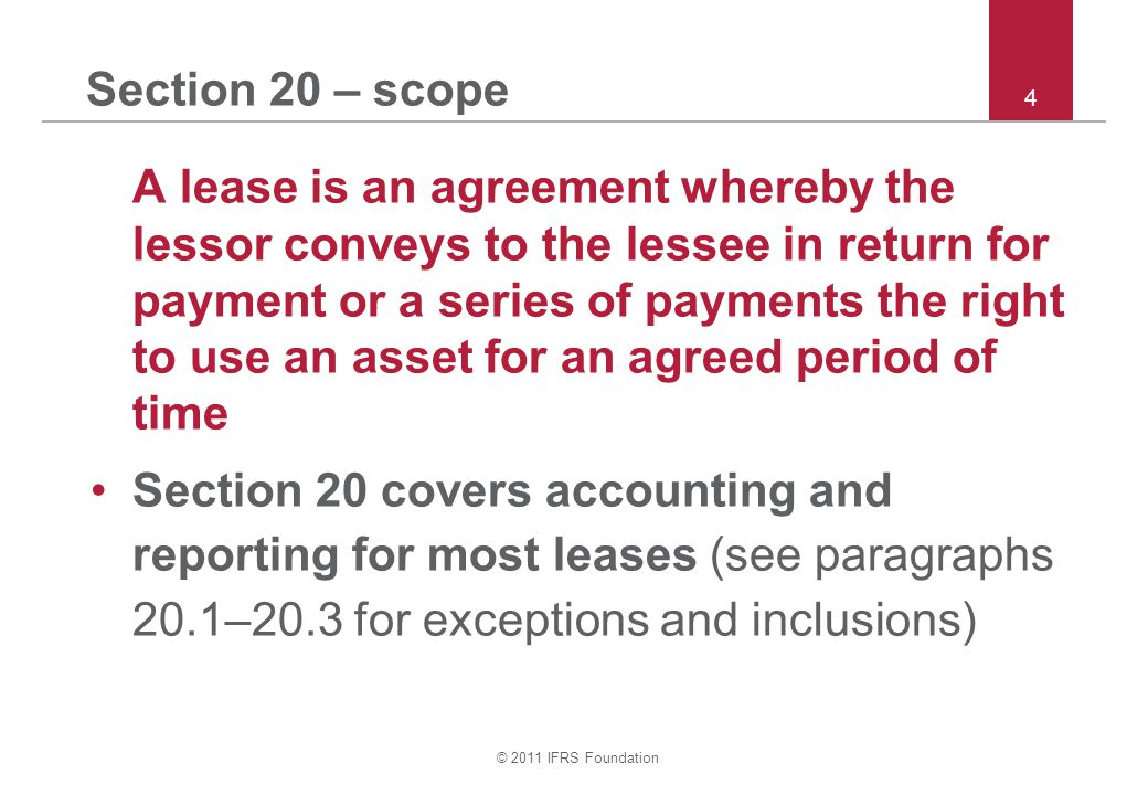 Section 20 – scope 4.