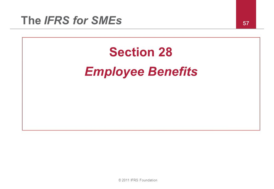 Section 28 Employee Benefits