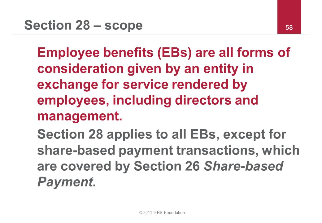 Section 28 – scope 58.