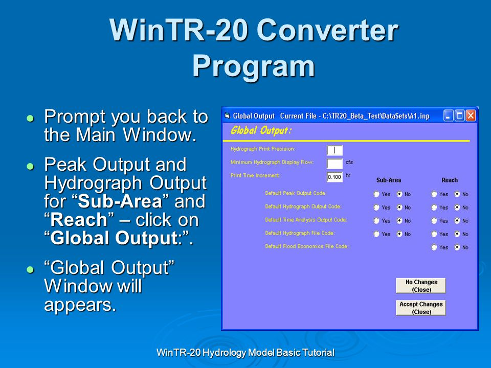 WinTR-20 Converter Program