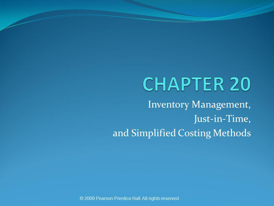 chapter 1 of inventory system with