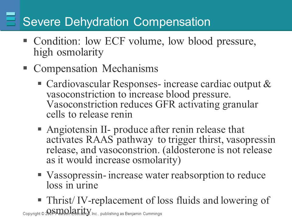 Severe Dehydration Compensation