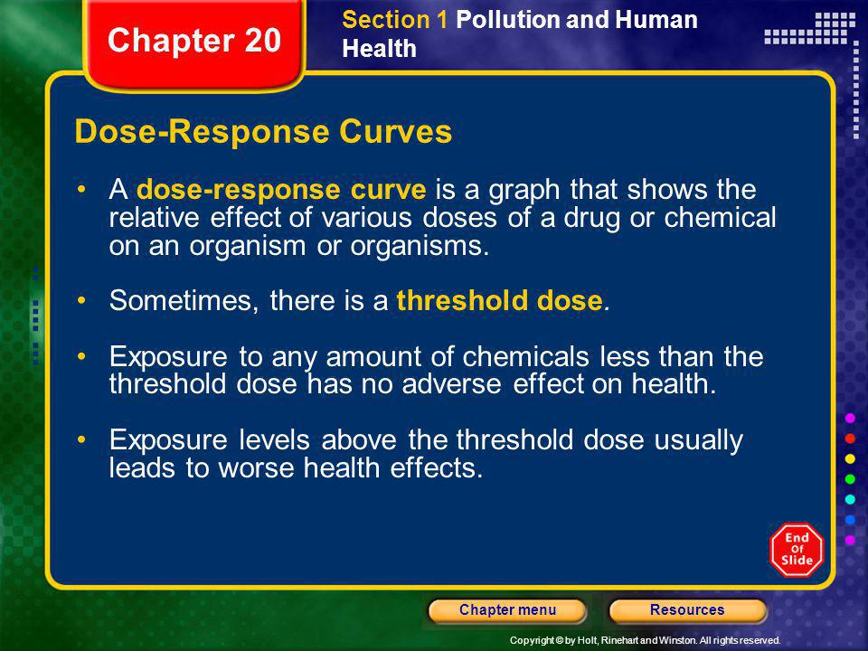 Chapter 20 Dose-Response Curves