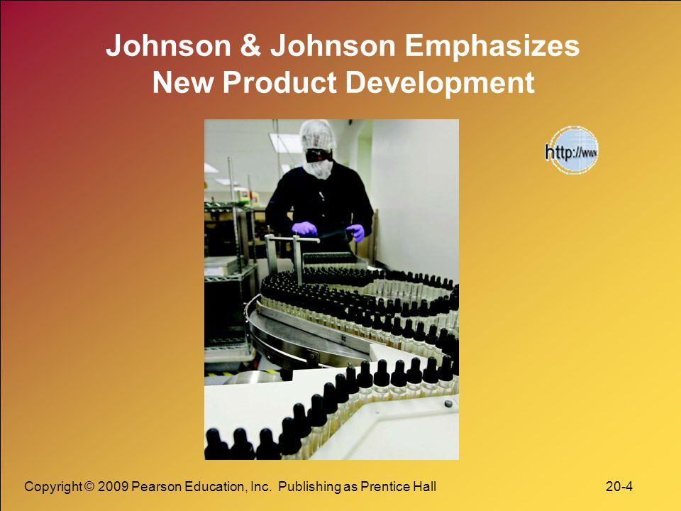 Johnson & Johnson Emphasizes New Product Development