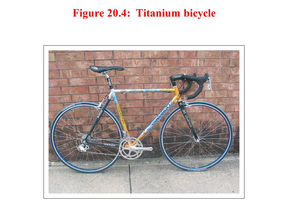 Figure 20.4: Titanium bicycle