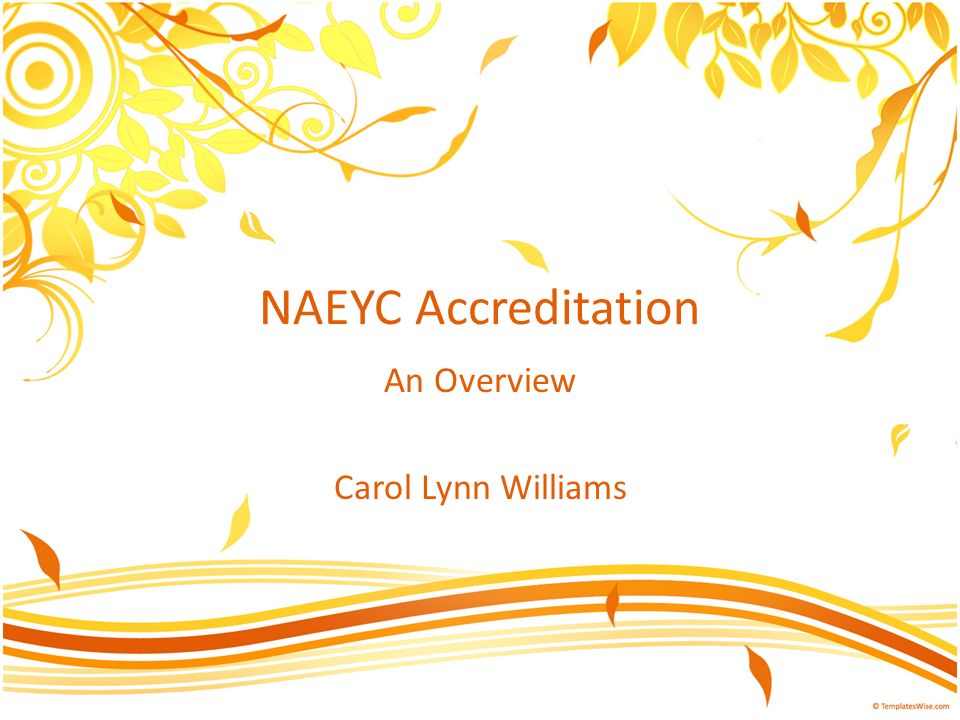 An Overview Carol Lynn Williams