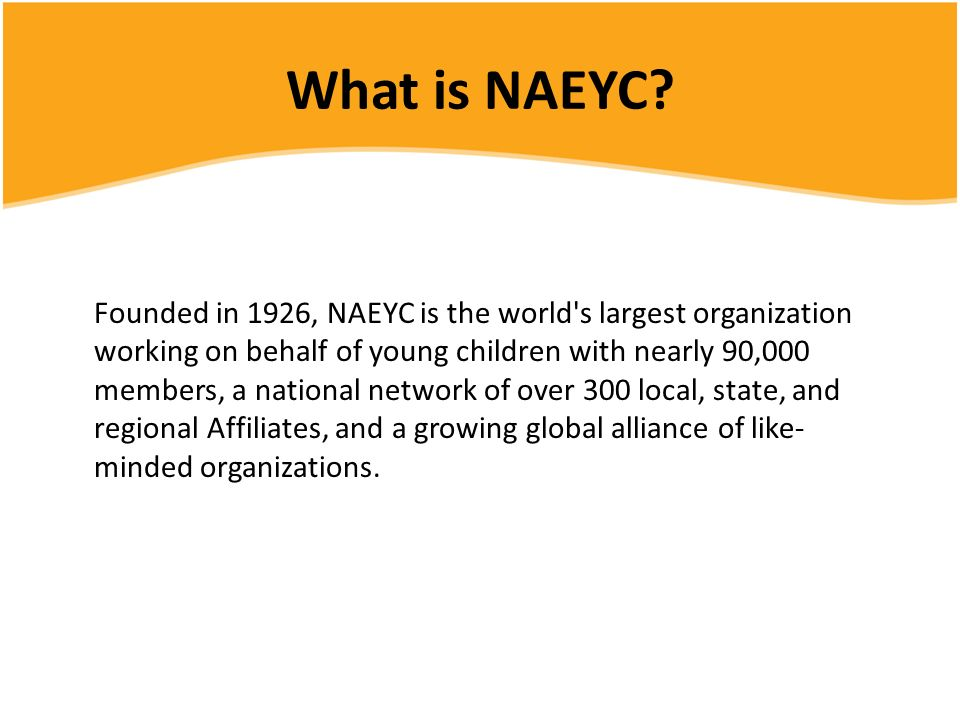 What is NAEYC