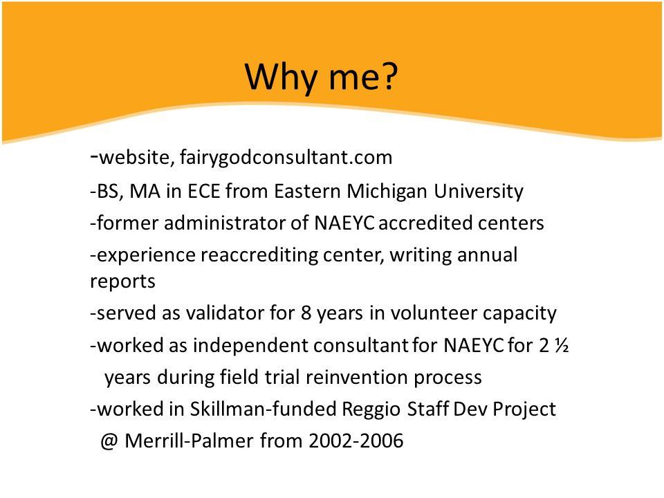 Why me -website, fairygodconsultant.com