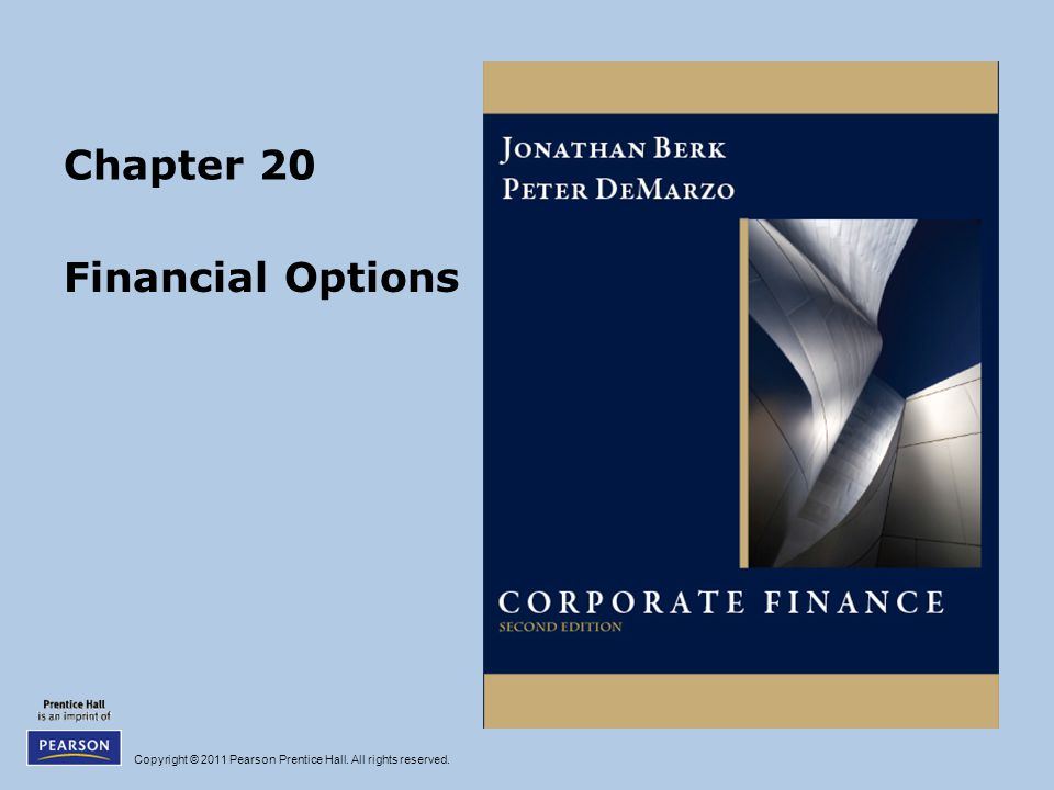 Chapter 20 Financial Options