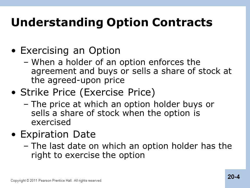 Understanding Option Contracts